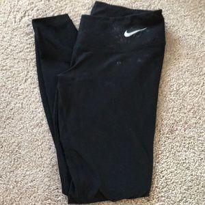 Nike full length leggings size small